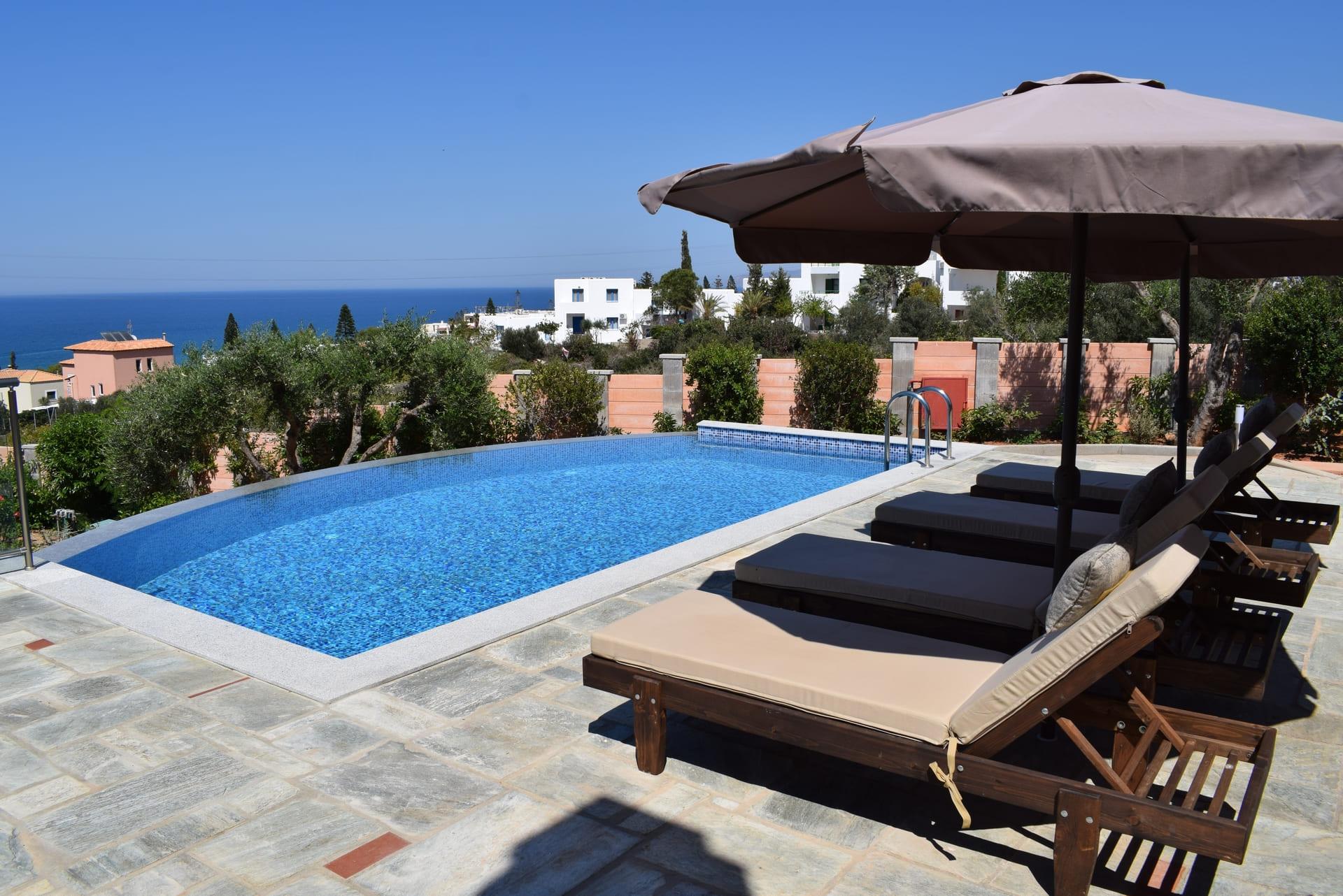 Gloria Sea View Villa With Private Pool