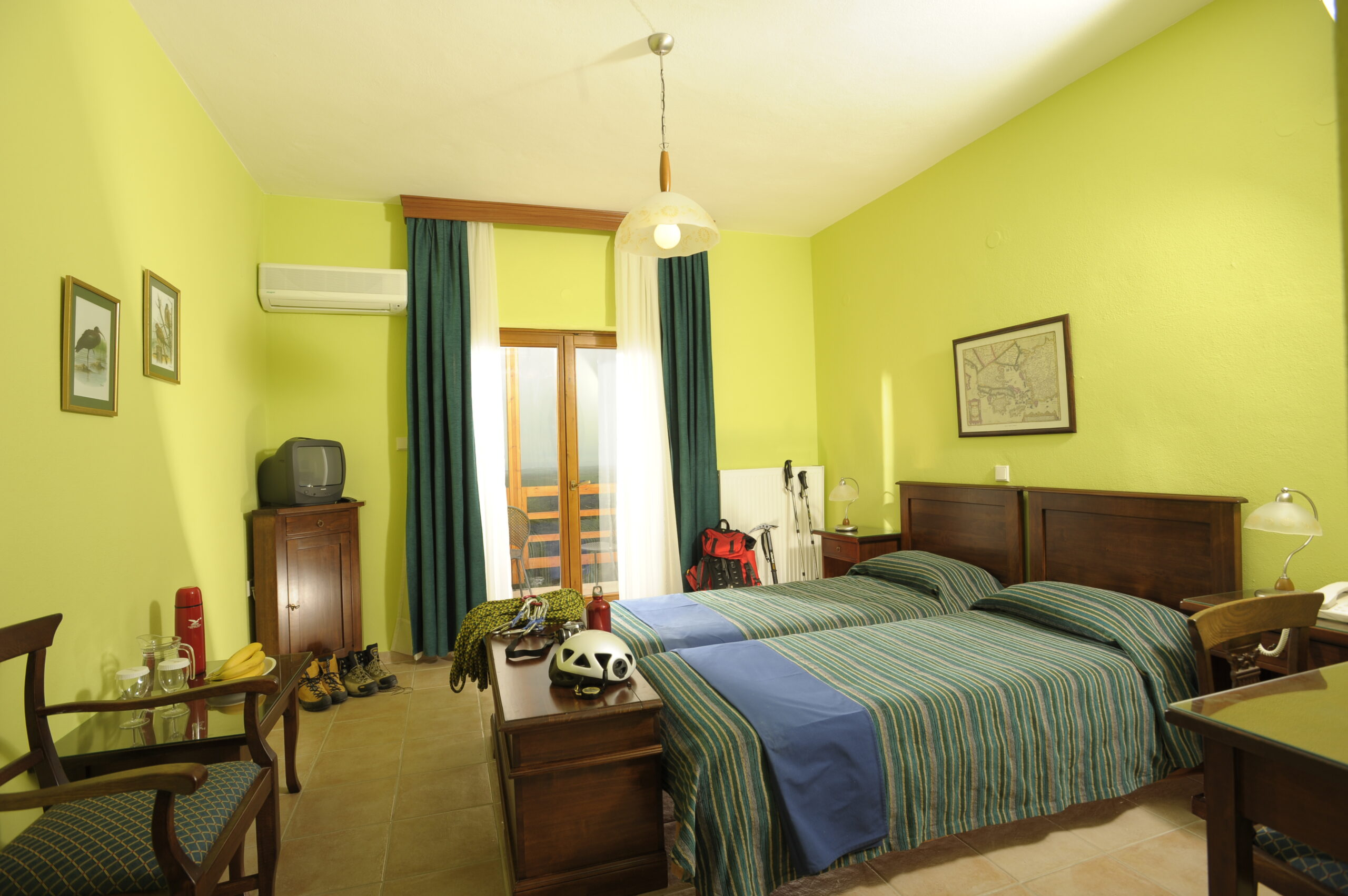 Country Double Room Surrounding View